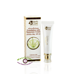 Солнцезащитный крем и основа под макияж SPF 60 PA+++, 15 мл., HerbCare
