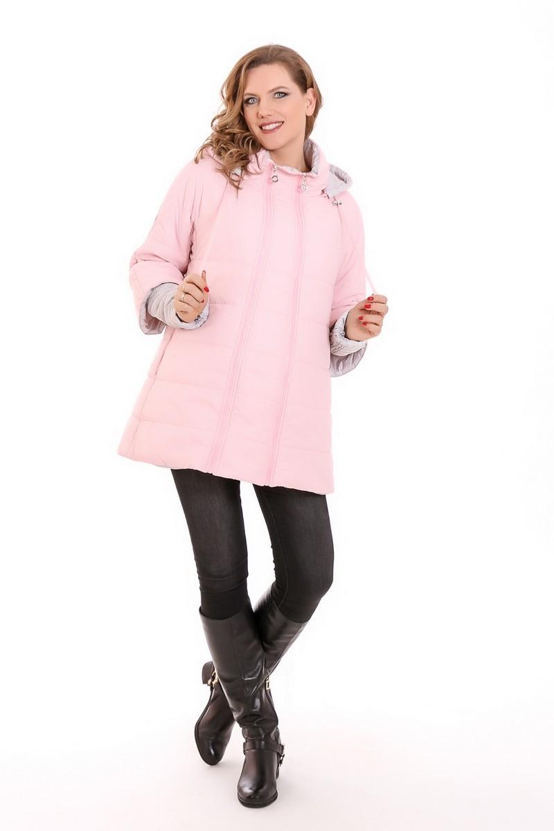 Куртка 09330 бледно-розовый