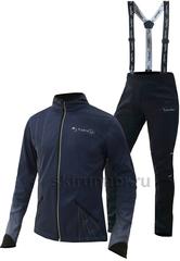 Утеплённый лыжный костюм Nordski Premium Navy NEW мужской