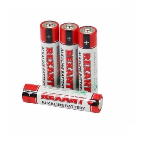 Батарейки мизинчиковые Rexant ААА/LR03 (блистер 4 шт.)