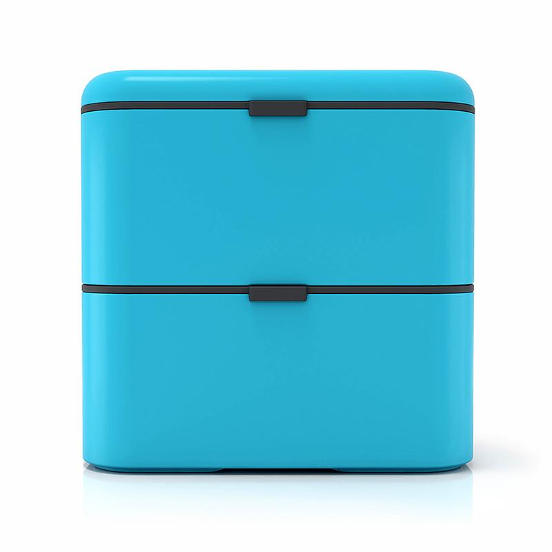 Ланч-бокс Monbento Square (1,7 литра) голубой
