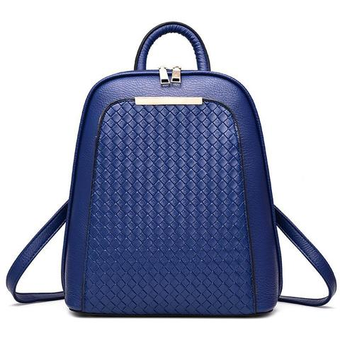 Женский рюкзак 7288 Navy Blue