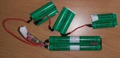Блок аккумуляторов AA для пылесоса