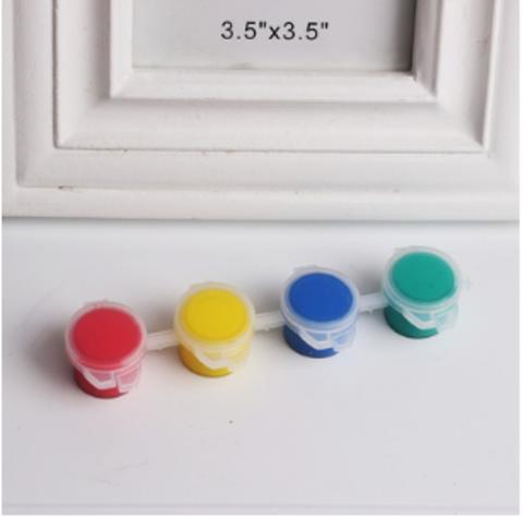 061-1536 Краски акриловые, 4 цвета, по 5 мл