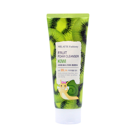 MILATTE Hand Крем для рук киви  MILATTE FASHIONY FRUIT HAND CREAM - KIWI 60 мл