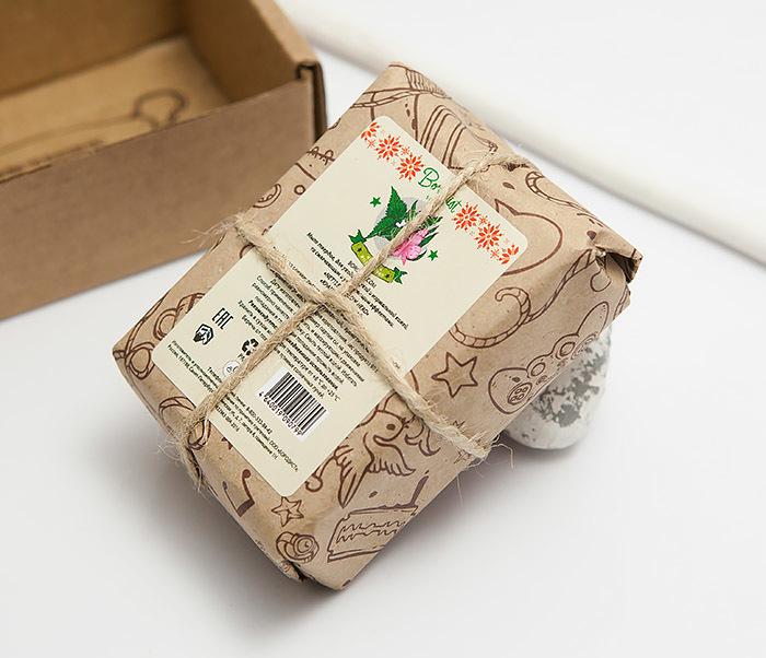 RAZ295 Натуральное крапивное мыло для тела Бородист «ИВАН-ЧАЙ» (90 гр) фото 03