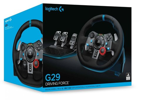 Sony PS4 Руль Logitech G29 Driving Force