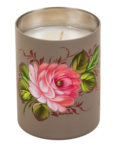Свеча ароматизированная с натуральным воском CA01D121118004