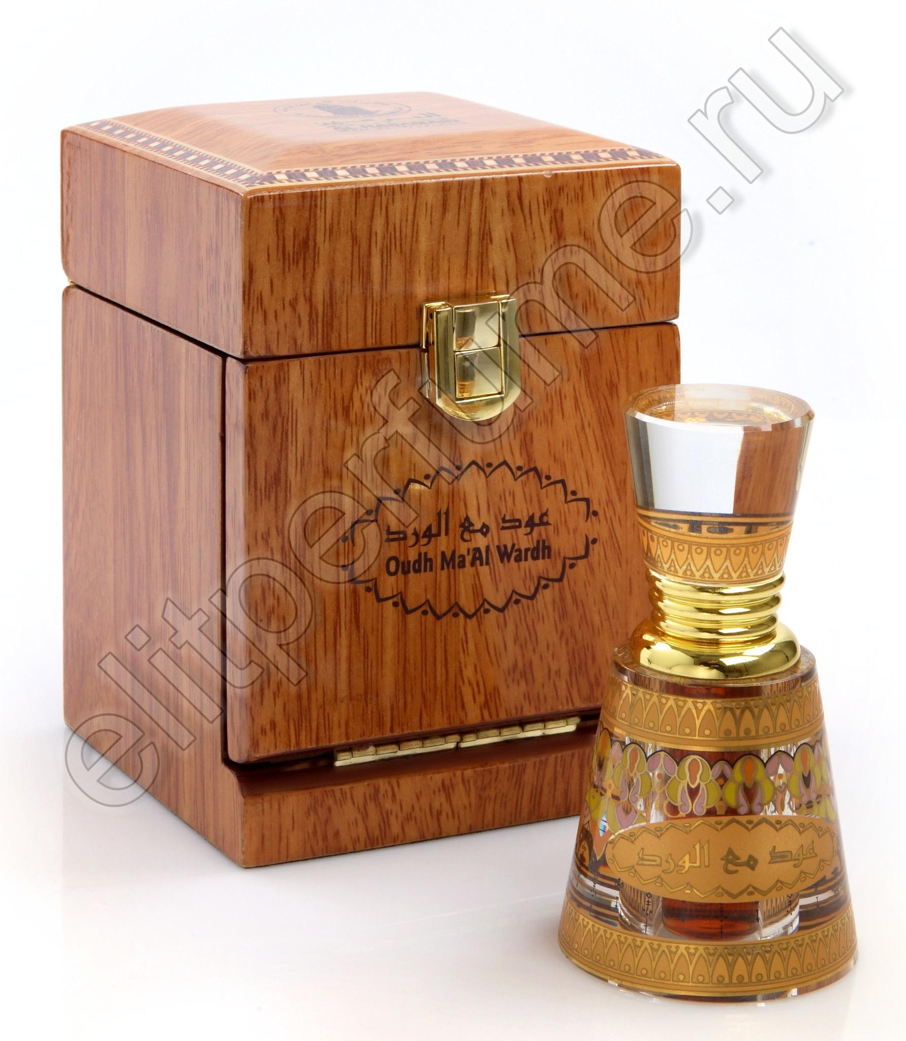 Пробники для духов Уд Ма-Аль Вард Oudh Ma'Al Wardh 1 мл арабские масляные духи от Аль Харамайн Al Haramin Perfumes