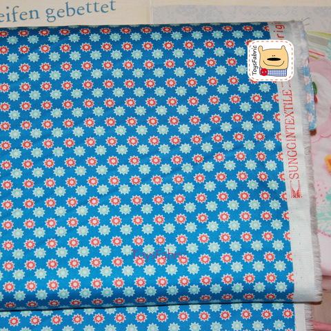 Ткань хлопок Корея 20856 (шестеренки) 45х55см
