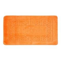 Коврик для ванной BANYOLIN 60х100 см ворс, оранжевый