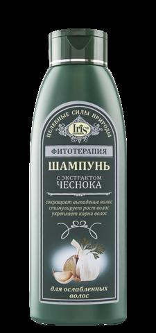 Iris Фитотерапия Шампунь с экстрактом чеснока 500 мл