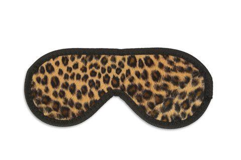 Закрытая маска леопардовой расцветки