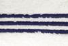 Полотенце 30x50 Casual Avenue Toscana с синими полосками слоновой кости