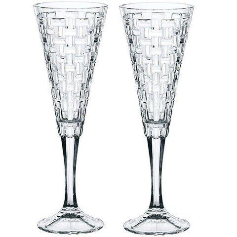 BOSSA NOVA - Набор фужеров 2 шт для шампанского 200 мл бессвинцовый хрусталь