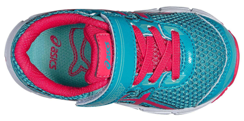 Детские спортивные кроссовки для девочек Asics GT-1000 4 TS (C555N 3920) мятные фото
