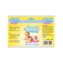 AVIRIL Детская присыпка с азуленом, 100 гр. (пакет)
