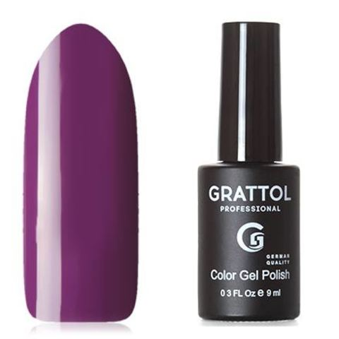 Grattol, Гель-лак Classic Collection №054, Dark Purple 53443
