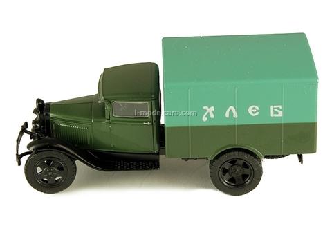 GAZ-AA Van Delivery Bread USSR 1:43 DeAgostini Service Vehicle #34