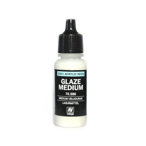 70596 Glaze Medium Глазурное Связующее, 17мл Acrylicos Vallejo