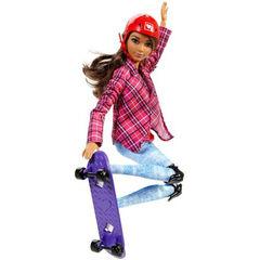Кукла Барби Скейтбордистка - Безграничные Движения, Mattel