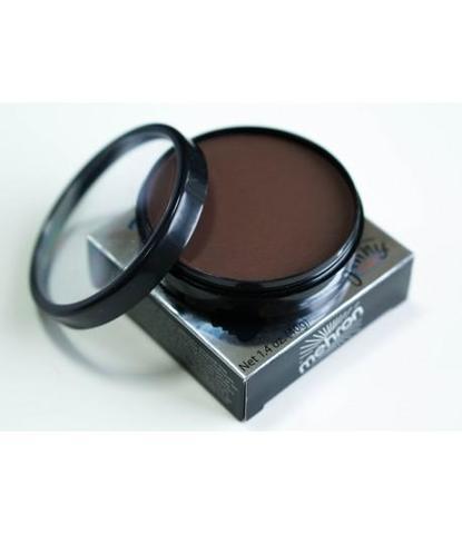 Аквагрим Mehron 40 гр регулярный темно-коричневый