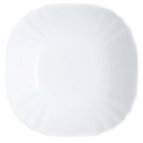 Тарелка суповая Luminarc Lotusia квадратная 22 см (H1503)