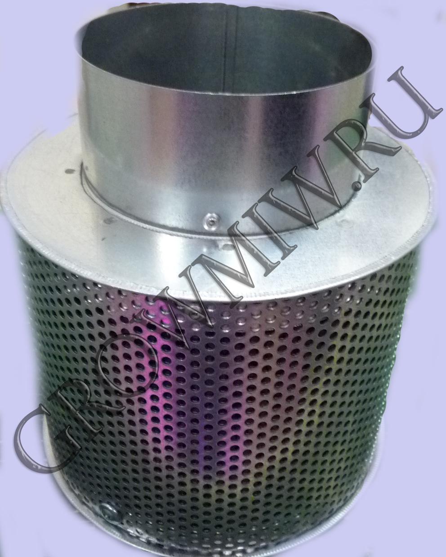 Высокоэффективный угольный фильтр Clean smell 125 mini до 300 м³/ч.