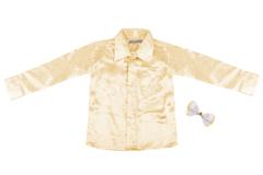 Детская рубашка из натурального шелка