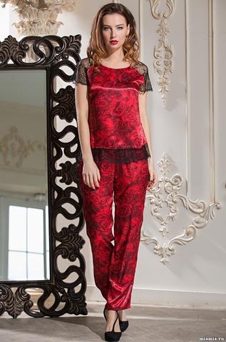 Шелковый комплект с брюками Mia-Amore CARMEN
