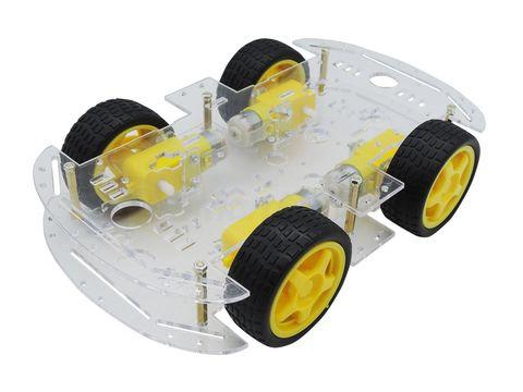 Шасси автомобиля 4WD