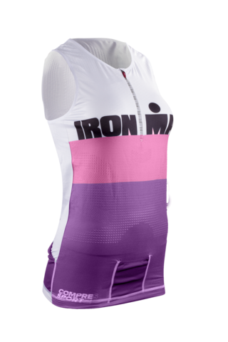 Майка Женская TRIATHLON TANK Stripes Ironman