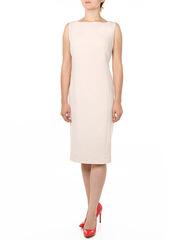 P157-2 платье женское, светло-бежевое