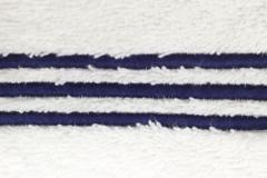 Полотенце 50х90 Casual Avenue Toscana с синими полосками слоновой кости