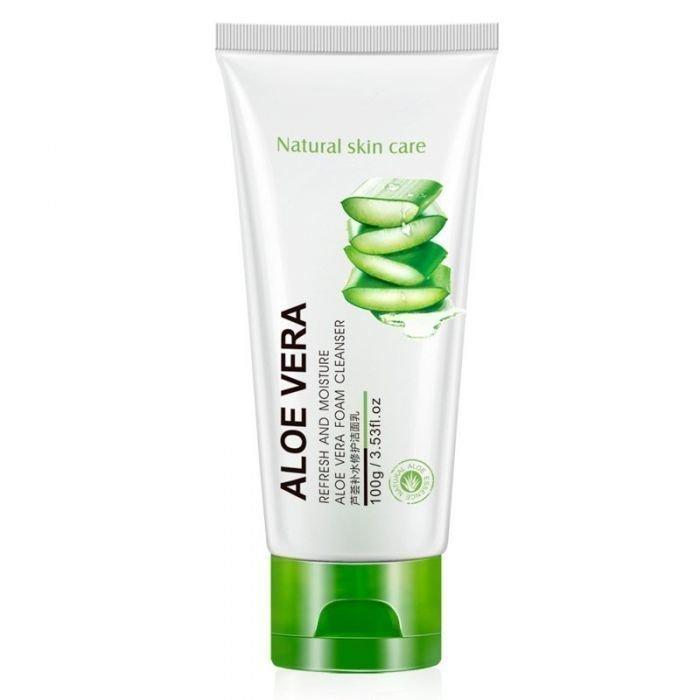 Bioaqua Aloe Vera Cleanser Пенка для умывания с алоэ, 100 гр