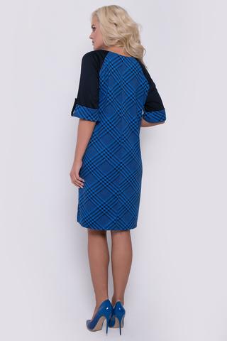 """Современное платье для любительниц строгих, но ярких образов. Принт """"клетка"""" - супер популярен в этом сезоне."""