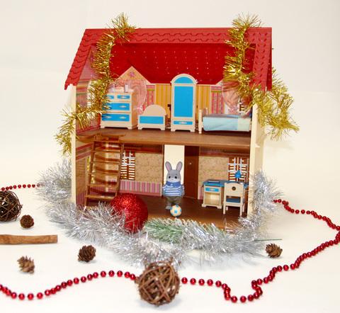 Дом Village Story с набором для спальни