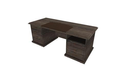 Стол письменный с ящиками С321Л/П (Советник)
