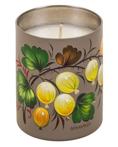 与天然蜡的香味蜡烛 CA01D121118006