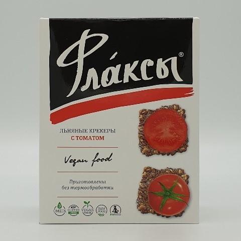 Флаксы с томатом КОМПАС ЗДОРОВЬЯ, 120 гр