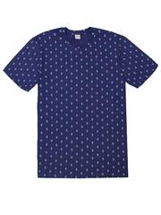4150-6 футболка мужская, синяя