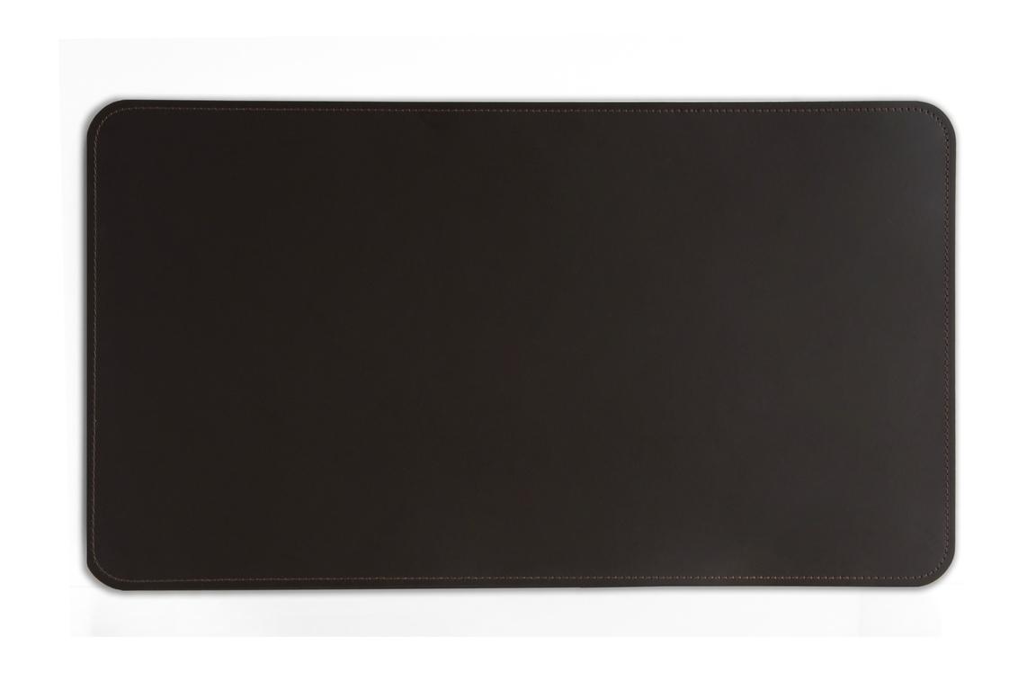 Бювар модель 9 кожа Cuoietto цвет темно-коричневый шоколад.