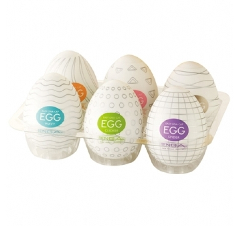 Набор яиц мастурбаторов Tenga EGG