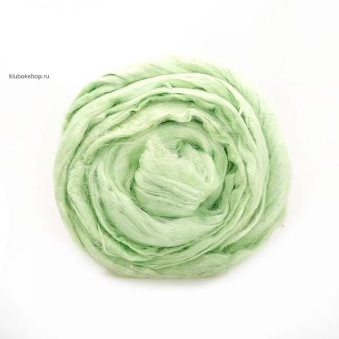 Вискоза для валяния (Троицкая) 50 Светлый салат - купить в интернет-магазине недорого klubokshop.ru