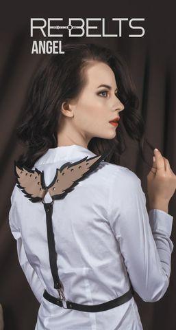 Портупея с крылышками Angel Black