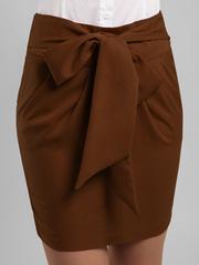 0556 юбка коричневая