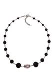 Ожерелье Монте Амиата с розовой бусиной