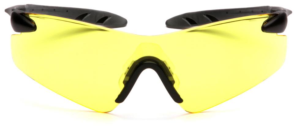 Очки баллистические стрелковые Pyramex Rotator SB7830S желтые 89%