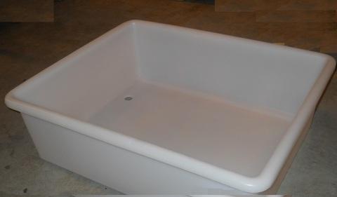 13300102 Ванна для мойки 110 л 825х680х260 мм