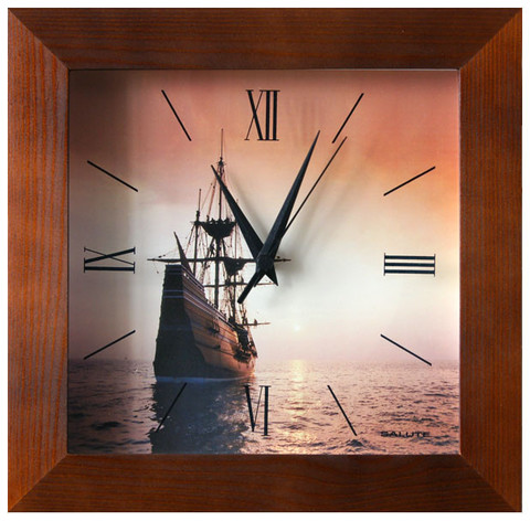 Настенные часы Салют ДСТ - 2АА28 - 321